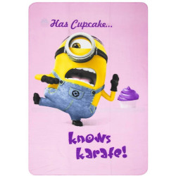 Minions fleecedeken - Karate