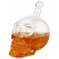 Crystal skull Head Bottle -...
