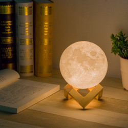 3D Moonlight lamp, 3 LEDs...