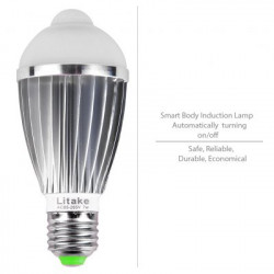 LED Lamp bulb E27 met...
