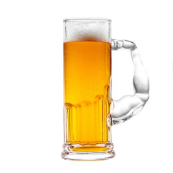 Muscle Beer glass /...