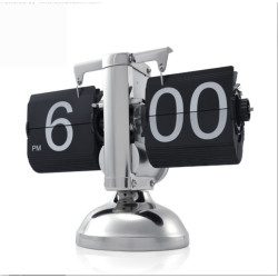 Decoratieve flip clock -...