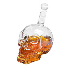Skull head whiskey karaf -...