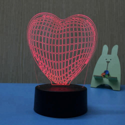 Decoratieve 3D lamp -...